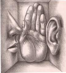 whispering in someones ear